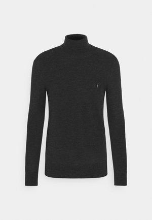 MODE ROLL NECK - Pullover - shadow grey marl