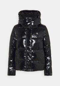 Calvin Klein Jeans - HIGH SHINE PUFFER - Winter jacket - black - 0