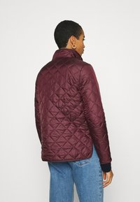 Selected Femme - SLFPLASTICCHANGE QUILTED JACKET - Light jacket - port royale - 2