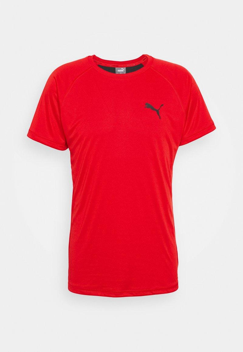 Puma - TEE - T-shirts print - high risk red