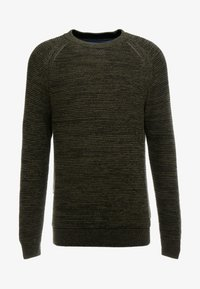edc by Esprit - STRUCTURED  - Jumper - khaki green - 3
