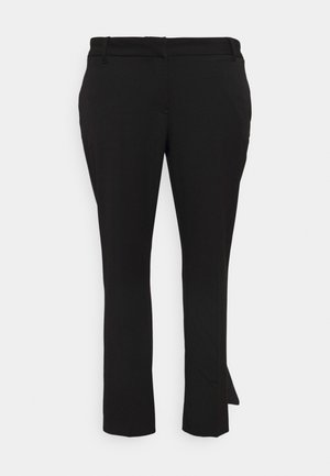 VMEVERLY STRAIGHT PANT CURVE - Trousers - black