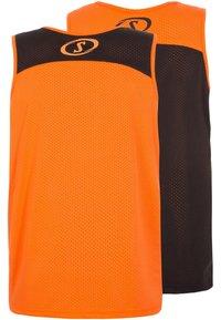 Spalding - 2 PACK - Sports shirt - orange/black - 1