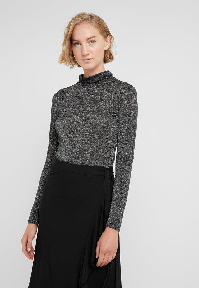 NERINE - Maglietta a manica lunga - black