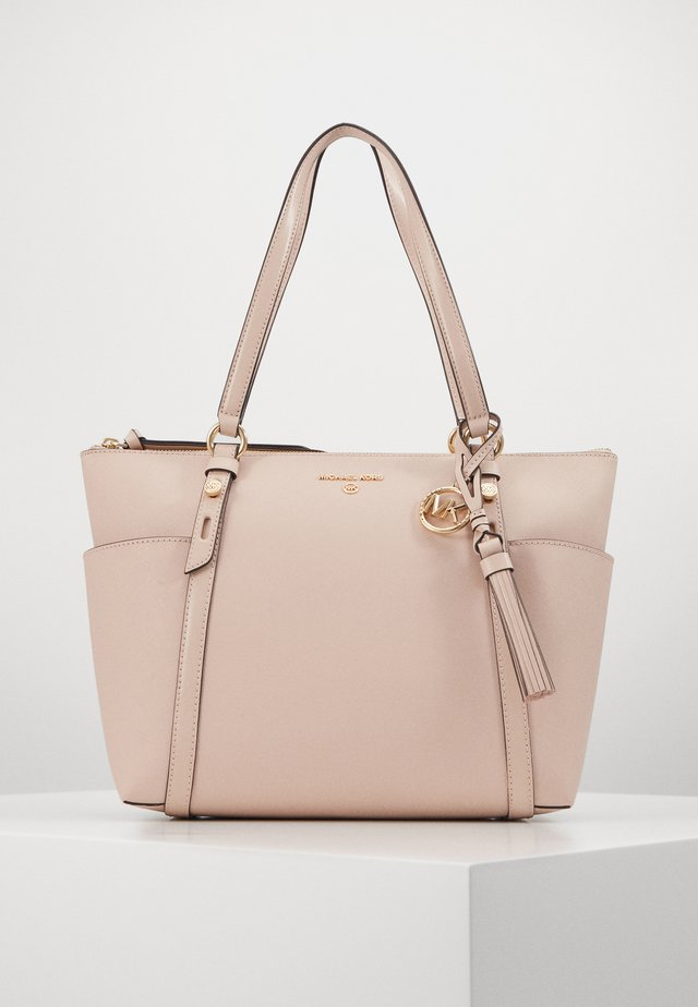 Shopping bags - soft pink
