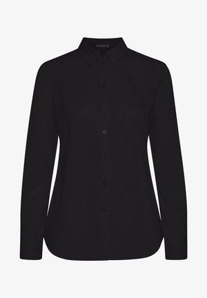 Button-down blouse - (noos) black