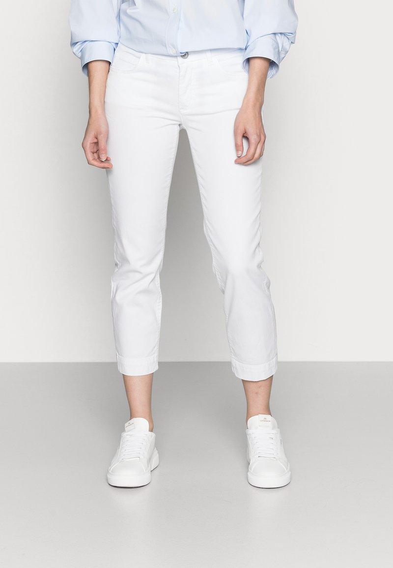 Marc O'Polo - Slim fit jeans - white