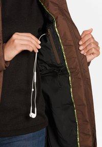 Jeff Green - FELY - Down coat - mocha - 9