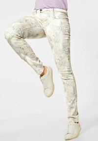 Street One - Slim fit jeans - weiß - 0