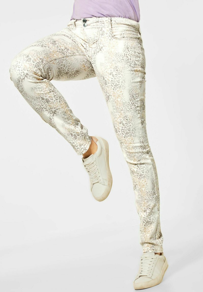 Street One - Slim fit jeans - weiß