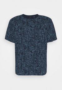 Only & Sons - ONSADRIEL LIFE TEE  - Print T-shirt - dress blues - 0