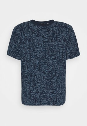 ONSADRIEL LIFE TEE  - Print T-shirt - dress blues
