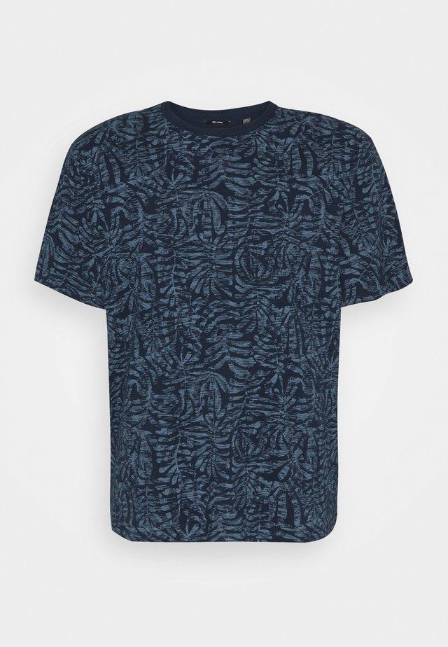 ONSADRIEL LIFE TEE  - Print T-shirt - dress blues