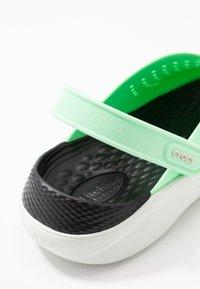 Crocs - LITERIDE - Sandalias planas - neo mint/almost white - 2