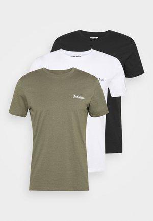 JORWINKS TEE CREW NECK 3 PACK - Basic T-shirt - tap shoe