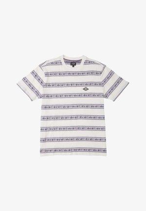 AUSTIN - Print T-shirt - off white