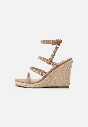 MALI - Platform sandals - tan