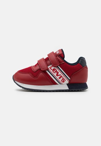 NEW SPRINGFIELD - Sneakers laag - red/navy