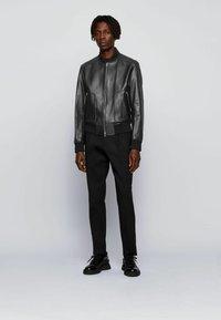 BOSS - NIPET - Leather jacket - black - 1