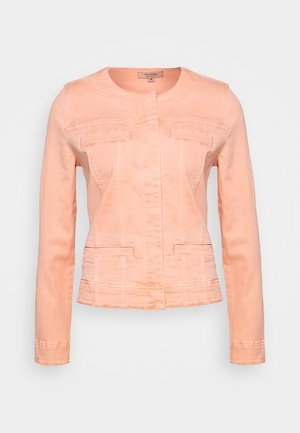 LANGARM - Denim jacket - orange