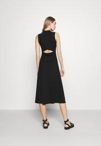 EDITED - TALIA DRESS - Jersey dress - schwarz - 2