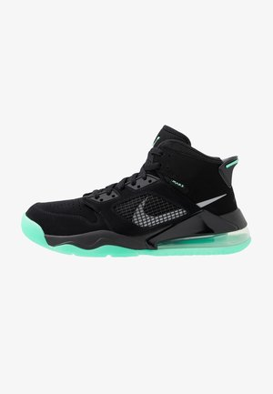 MARS 270 - Höga sneakers - black/green glow/green glow