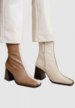 SOUTH BICOLOR - Botki - camel and beige
