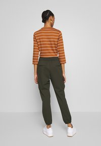 ONLY - ONLPOPTRASH  - Cargo trousers - forest night - 2