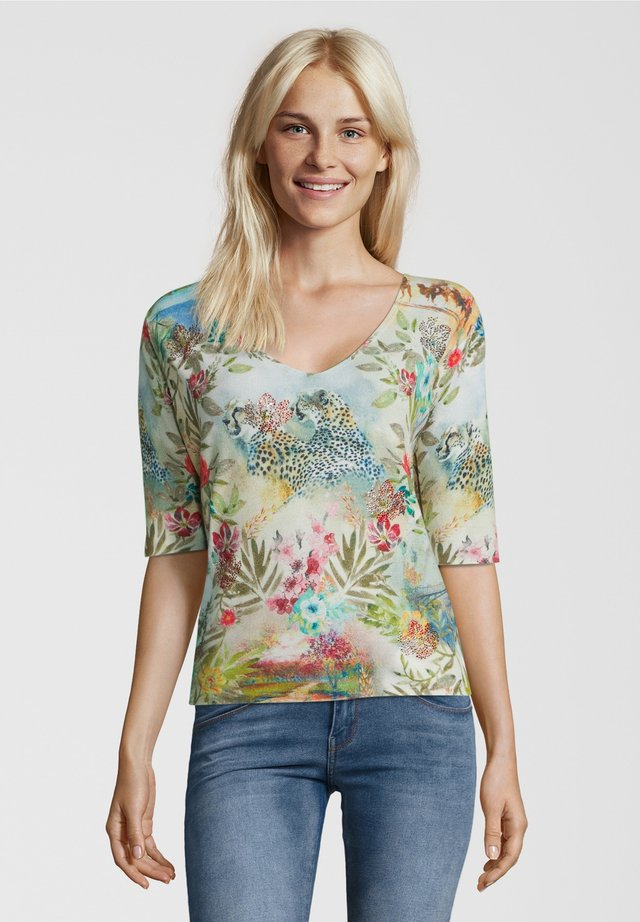 PULLOVER JUNGLE - Trui - multicolor