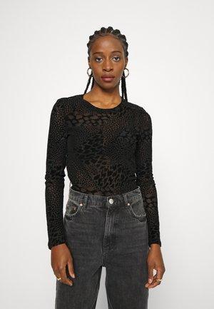 VMDAYA  - Long sleeved top - black