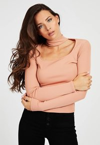 Guess - CUT-OUT - Long sleeved top - rose - 0