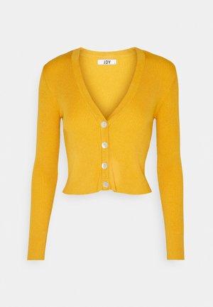 JDYDONNEL CARDIGAN - Cardigan - mineral yellow