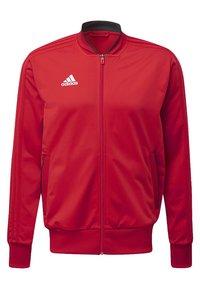 adidas Performance - CONDIVO 18 TRACK TOP - Training jacket - power red/black/white - 1