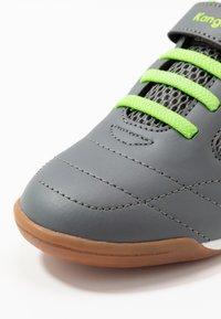 KangaROOS - RACE YARD - Sneakers - steel grey/lime - 2