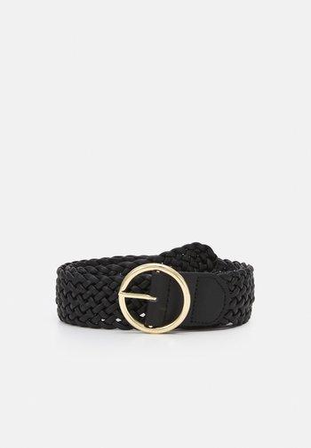 PCFLORA WAIST BELT - Waist belt - black/gold-coloured
