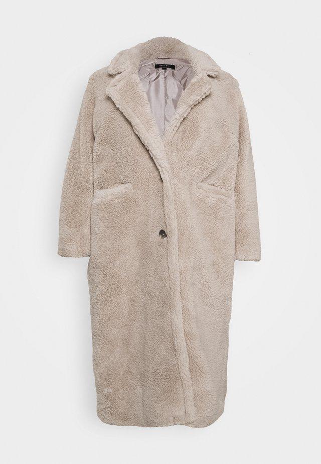 LONGLINE COAT - Cappotto classico - mink