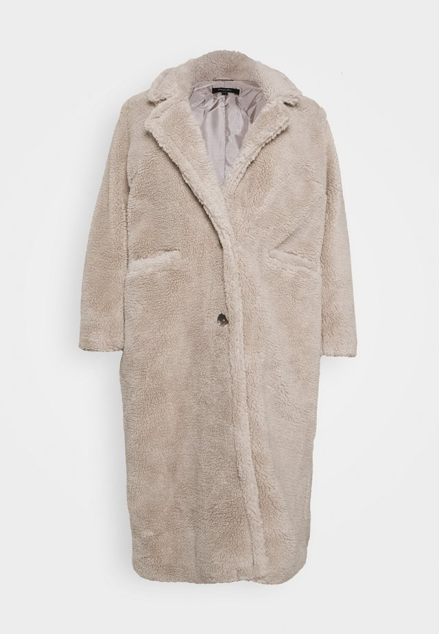 LONGLINE COAT - Zimní kabát - mink