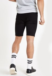 River Island - Denim shorts - black - 2