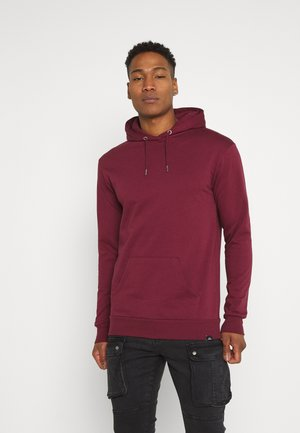 CORE HOOD - Sweat à capuche - burgundy