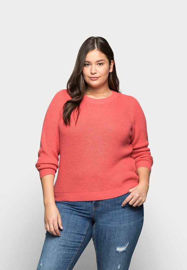 VMLEANNA ONECK - Sweter - spiced coral