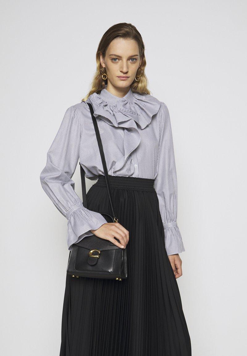 Coach - TABBY TOP HANDLE - Handbag - black