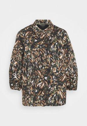 EVRETT - Button-down blouse - khaki
