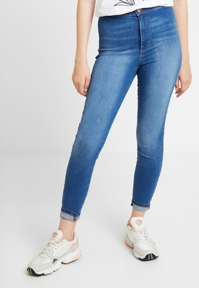STEFFI - Jeansy Skinny Fit - blue denim