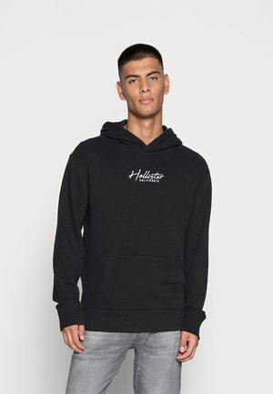 SOLID SCRIPT - Sweatshirt - black