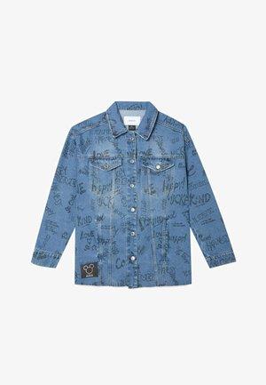 MICKEY  - Kurtka jeansowa - mottled light blue