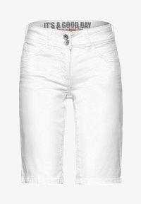 Cecil - Denim shorts - weiß - 3