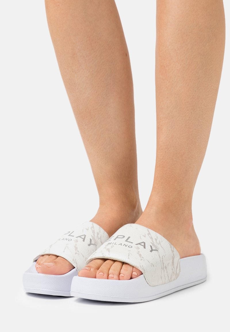 Replay - PARKER - Mules - white