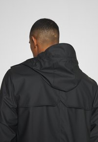 Rains - FISHTAIL UNISEX  - Parka - black - 5