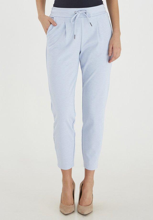 Trousers - brunnera blue melange