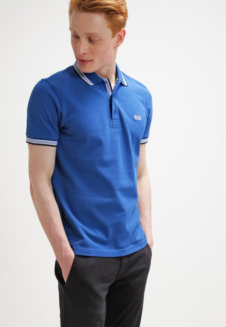 BOSS - PADDY  - Polo shirt - medium blue